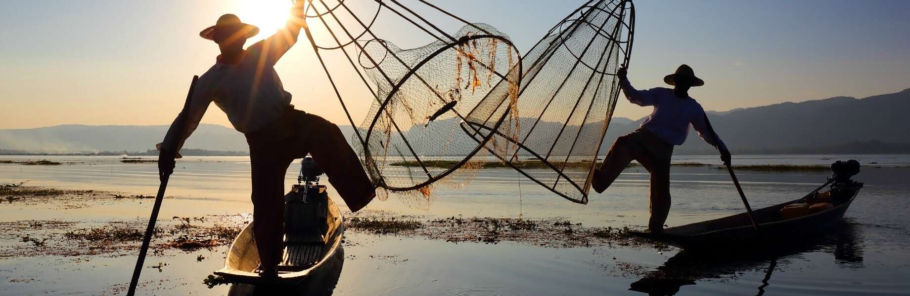 Myanmar Family Adventure - Fishermen of Inle Lake