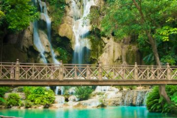 Luang Prabang Family Holiday - Kuang Si Waterfall