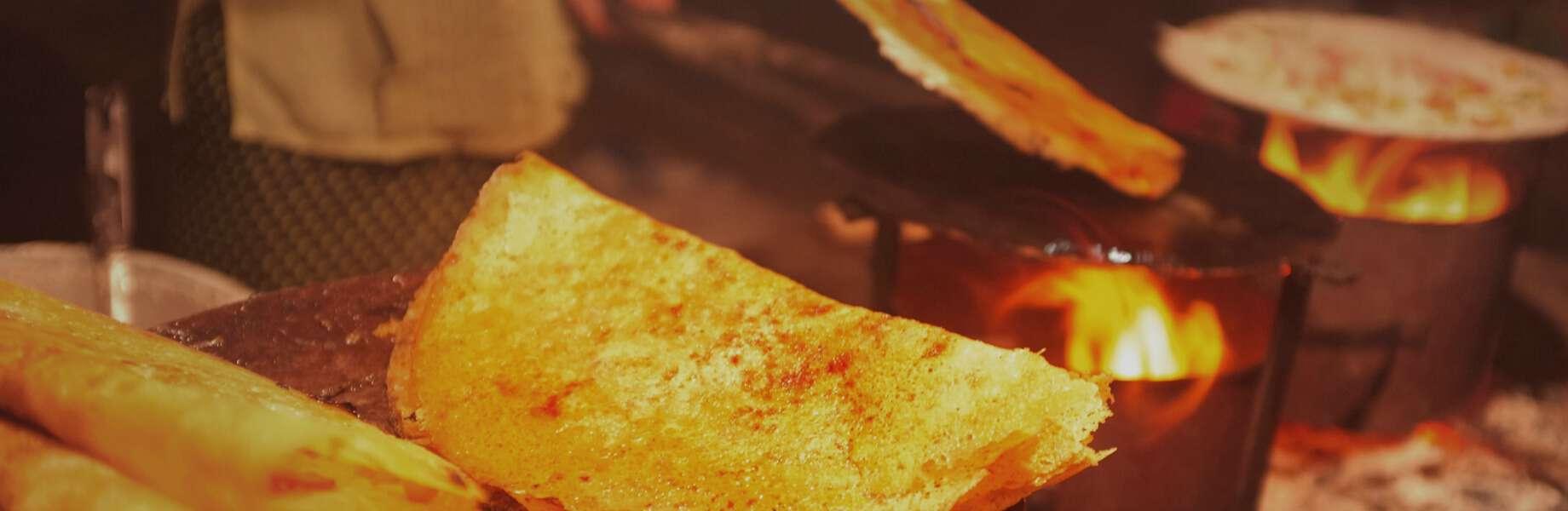 Myanmar Family Adventure - Pancake Street Food