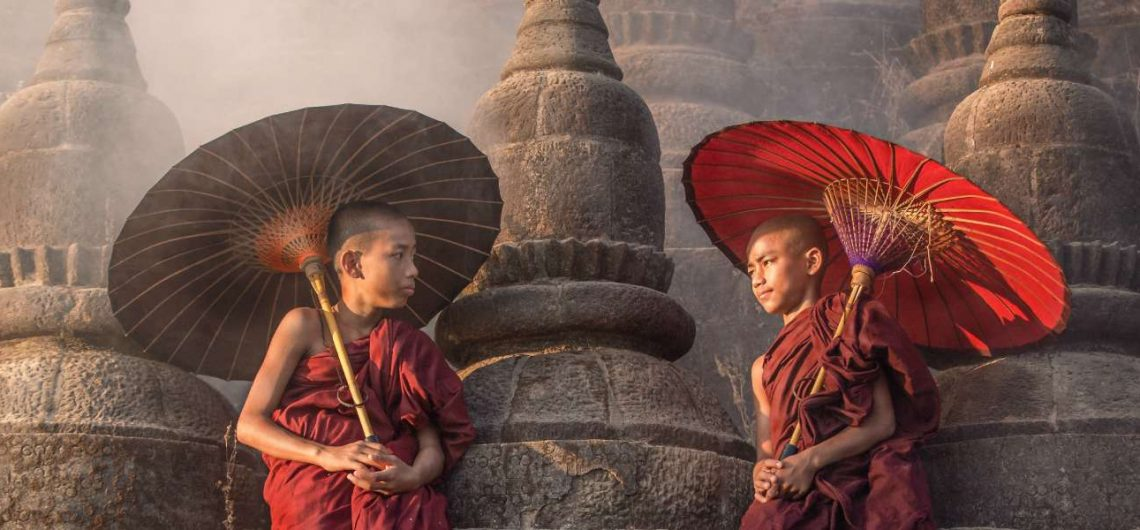 Myanmar Family Adventure Multi Activities - Monks
