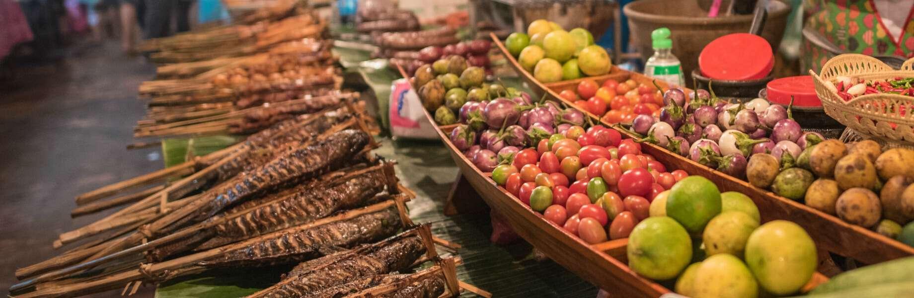 Luang Prabang Family Holiday - Local Market