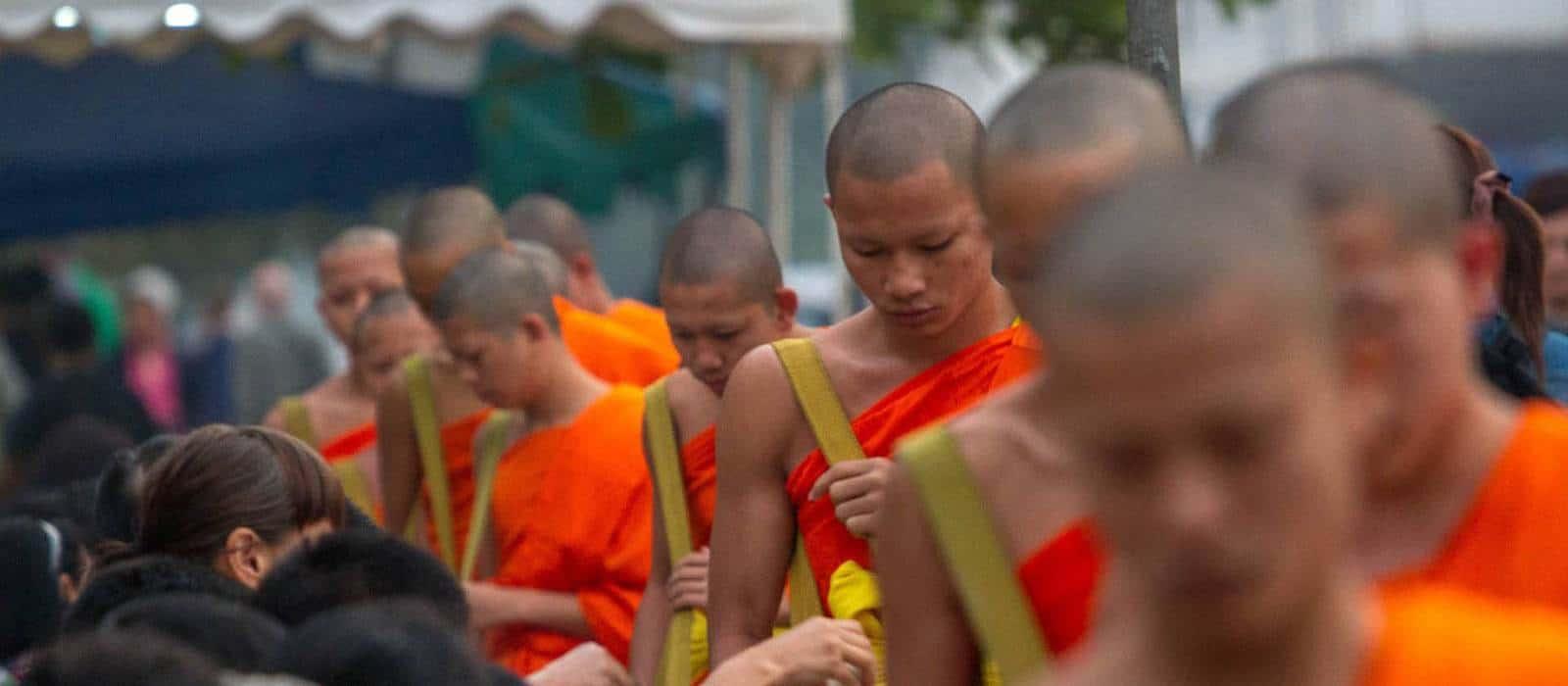 Luang Prabang Family Holiday - Luang Prabang Family Holidy - Daily Alms