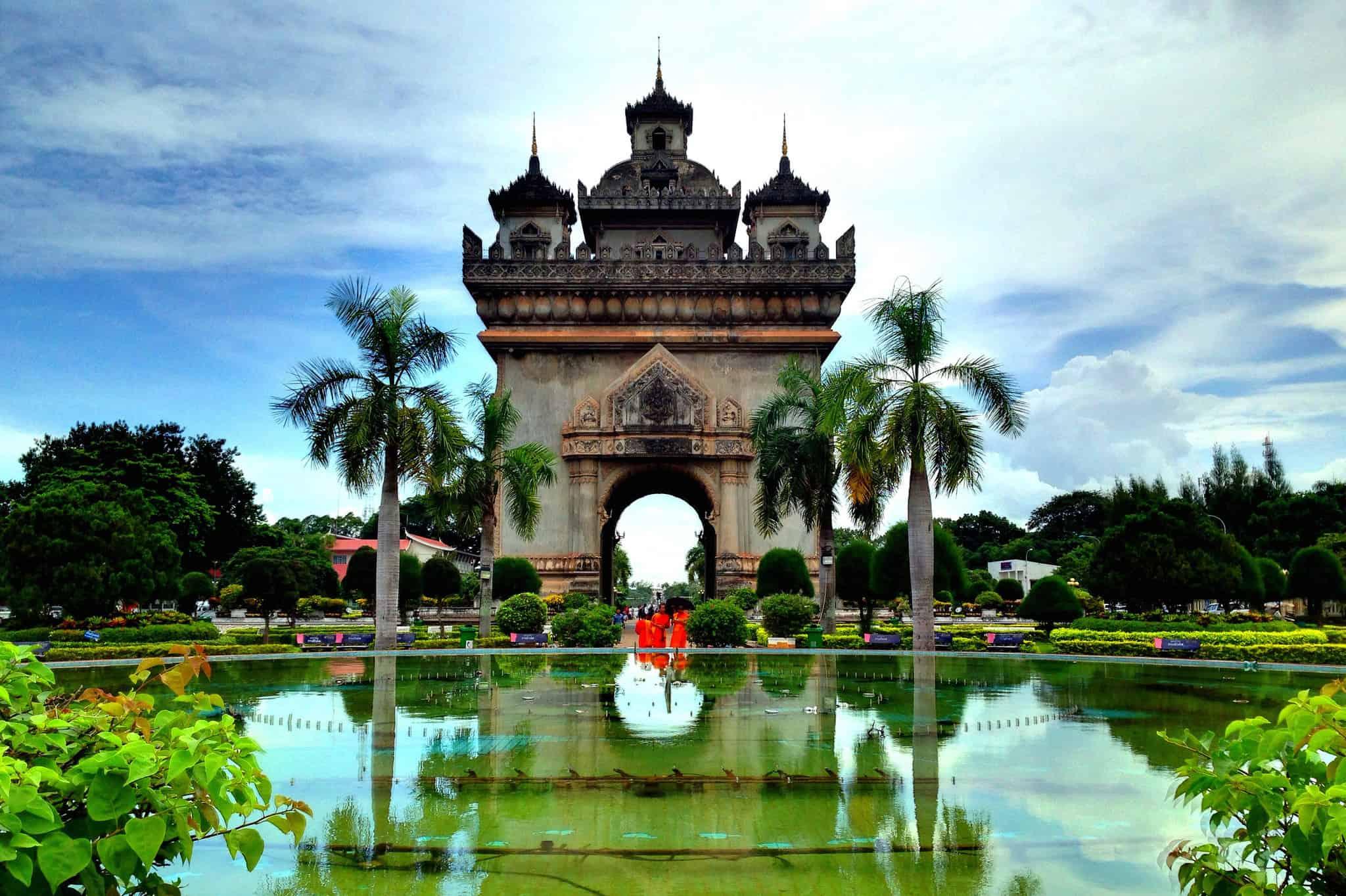 Patuxai Laos In Style